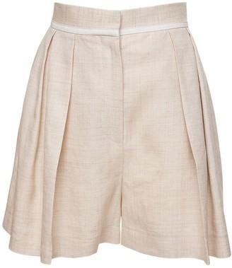 Stella McCartney Linen Blend Bermuda Shorts