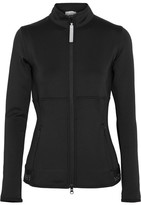 adidas by Stella McCartney The Midlayer Climalite Stretch-jersey Jacket - Black