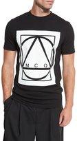 McQ by Alexander McQueen Glyph Icon Jersey T-Shirt, Black