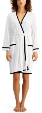 Sesoire Short Terry Wrap Robe