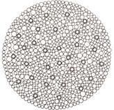 Metal Circles Placemat