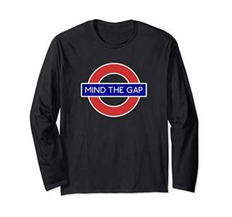 Gap London Souvenir Mind The Underground Tube Long Sleeve T-Shirt