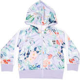 Bonds New Tots Girls New Era Zip Hoodie Cotton Soft Elastane