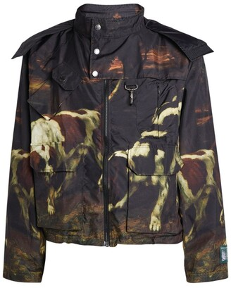 Reese Cooper Camouflage Shell Jacket