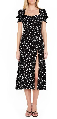 Bardot Millie Spot Midi Dress