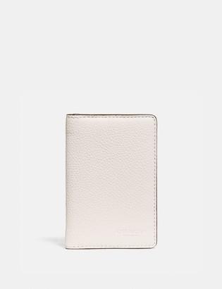 Coach Card Wallet In Colorblock