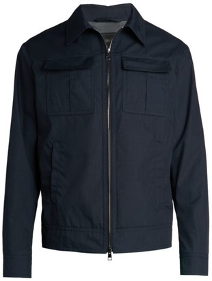 Saks Fifth Avenue COLLECTION Patch Pocket Jacket