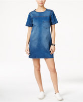Calvin Klein Jeans Studded Denim Shift Dress