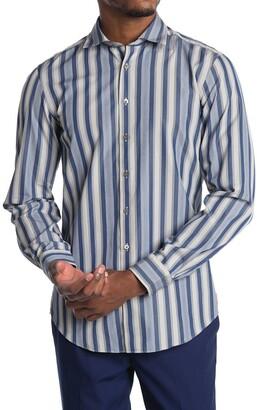 Thomas Pink Archive Portland Multi Stripe Print Shirt