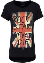 Boom Bap Uk Print Tshirt Black/black