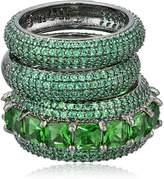Noir Green Miranda Stackable Ring