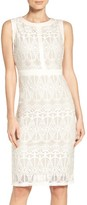 Gabby Skye Women's Lace Midi Dress