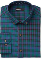 Bar III Men's Slim-Fit Black Watch Plaid Dress Shirt, Only at Macy's