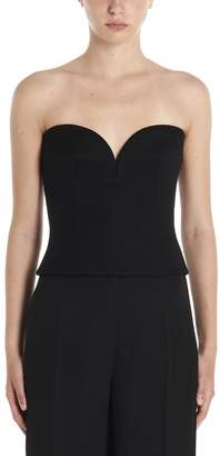 Prada Heart Neckline Sleeveless Top