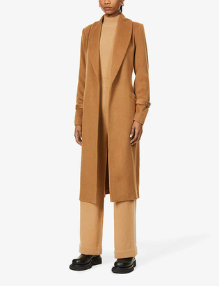 Paige Greylin shawl-collar wool-blend coat