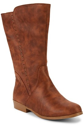 Mia Girl's Laray Faux Leather Boots
