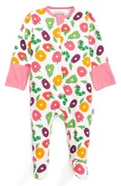 Infant Girl's Jaxxwear The World Of Eric Carle - The Very Hungry Caterpillar Footie