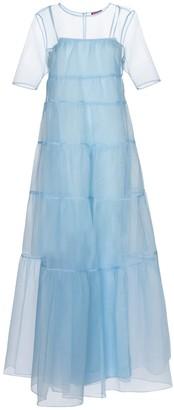 STAUD Hyacinth organza maxi dress