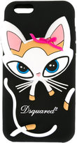 DSQUARED2 cat iPhone 6 case - women - Silicone - One Size