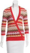 Missoni Cashmere Wrap Top