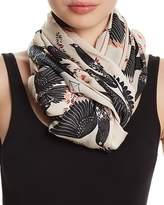 Rebecca Minkoff Love Doves Oblong Scarf