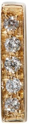 VANRYCKE Yellow Gold Diamond Bar Single Earring