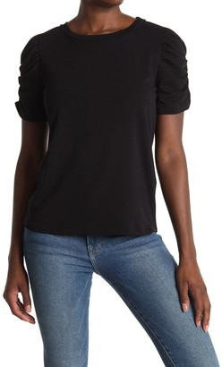 Pleione Rouched Short Sleeve Tee