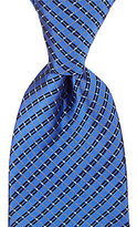Murano Cell Block Traditional Silk Tie