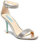 Betsey Johnson Shilo Lace Sandals