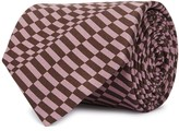 Pal Zileri Purple Printed Silk Tie