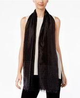 Eileen Fisher Silk Embroidered Scarf