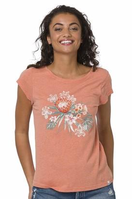 Animal Womens Orange T-Shirt- Spirit Too