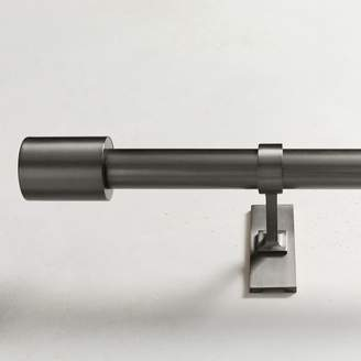 west elm Oversized Adjustable Metal Rod - Gunmetal