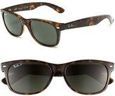 Ray-Ban Women's 'New Small Wayfarer' 55Mm Polarized Sunglasses - Grey