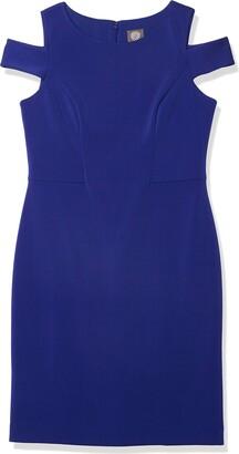 Vince Camuto Women's Cold Shoulder Sheath Dress