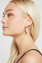 BCBGeneration Pave Round Huggie Earring