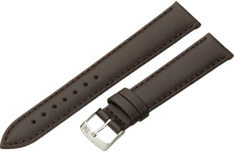 Morellato leather strap for unisex watch TWINGO black 18 mm A01U1877875032CR18