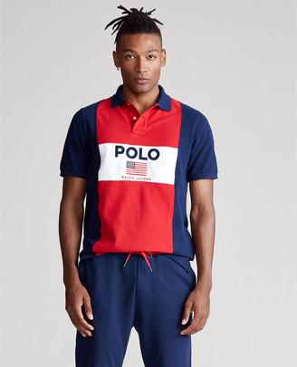 Ralph Lauren Flag Mesh Polo - All Fits