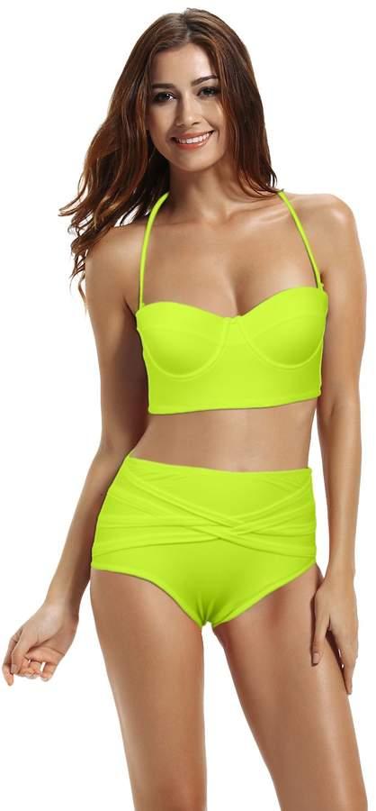 7f14749b4c High Waisted Bikini Swimwear - ShopStyle Canada