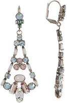 Sorrelli Ornate Crystal Eiffel Statement Earrings