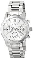 A Line a_line Women's AL-80597-22S Sophi Chic Analog Display Japanese Quartz Silver Watch