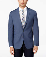 Ryan Seacrest Distinction Ryan Seacrest DistinctionTM Men's Slim-Fit Blue Mini-Check Sport Coat, Created for Macy's