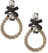 Banana Republic Jeweled Ribbon Statement Earring