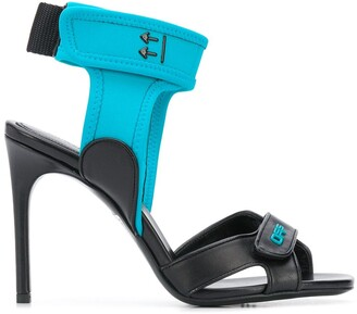 Off-White Touch Strap Sandals