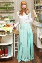 Shabby Apple Southern Belle Maxi Skirt Green