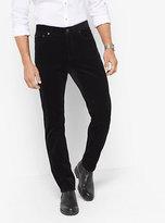 Michael Kors Slim-Fit Velvet Pants