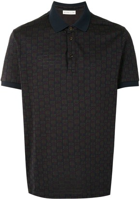 Etro Monogram Polo Shirt