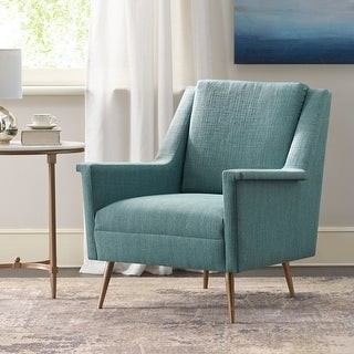 Madison Home USA Kamil Teal Accent Chair