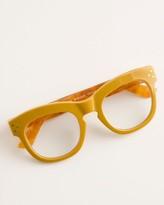 Peepers Focus Bravado Yellow Reading Glasses