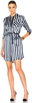 ATM Anthony Thomas Melillo Striped Shirt Dress